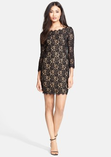 Diane von Furstenberg 'Colleen' Lace Sheath Dress
