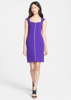 Diane von Furstenberg 'Corrine' Woven Sheath Dress