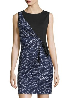 Diane von Furstenberg Dahlia Side-Tie Silk Dress