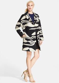 Diane von Furstenberg 'Daphnis' Oversize Woven Coat