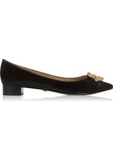 Diane von Furstenberg Darcey patent-leather loafers