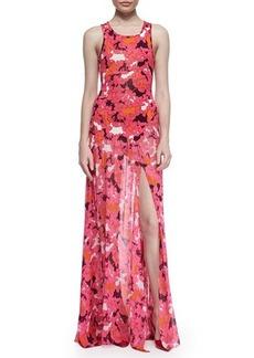 Diane von Furstenberg Davina Floral-Print Maxi Dress