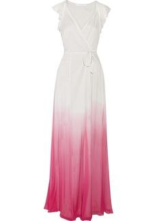 Diane von Furstenberg Delancey tye-dyed silk-chiffon dress