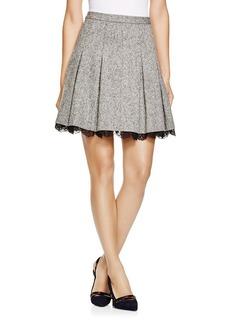 DIANE von FURSTENBERG Devyn Pleated Mini Skirt
