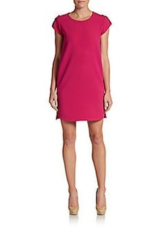 Diane von Furstenberg Dominique Crepe Shift Dress