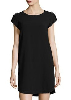 Diane von Furstenberg Dominique Jersey Dress, Black