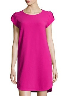 Diane von Furstenberg Dominique Jersey Dress, Rosy Blush