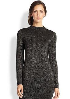 Diane von Furstenberg Dora Metallic Sweater