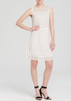 DIANE von FURSTENBERG Dress - Abriella Studded Silk
