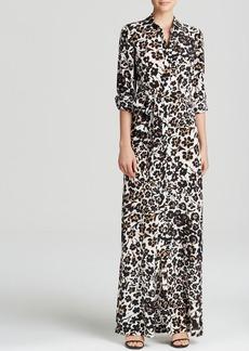 DIANE von FURSTENBERG Dress - Amina Silk Leopard