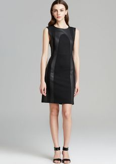 DIANE von FURSTENBERG Dress - Charlize Leather Panel