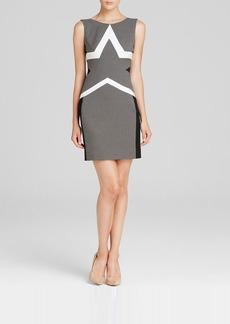 DIANE von FURSTENBERG Dress - Sheath Star Print