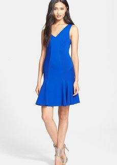Diane von Furstenberg Drop Waist Body-Con Dress