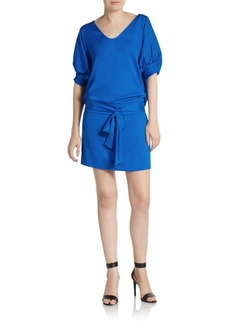 Diane von Furstenberg Edna Silk-Blend Dress