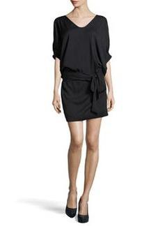 Diane von Furstenberg Edna Woven Dress, Black