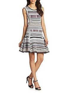 Diane von Furstenberg Eleanor Sleeveless Fit-&-Flare Dress