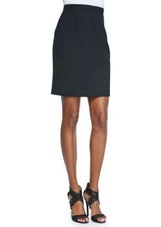 Diane von Furstenberg Eliza Pleated-Back Pencil Skirt