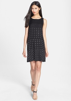 Diane von Furstenberg 'Ella' Embellished Silk Shift Dress
