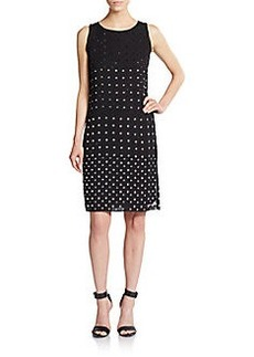 Diane von Furstenberg Ella Jeweled Silk Dress
