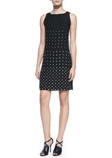 Diane von Furstenberg Ella Sleeveless Jewel-Studded Dress