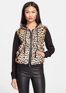 Diane von Furstenberg 'Elodie' Genuine Lamb Fur Jacket