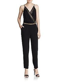 Diane von Furstenberg Embellished Caroline Jumpsuit