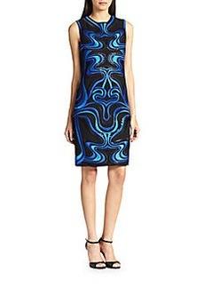 Diane von Furstenberg Embroidered Sheath Dress