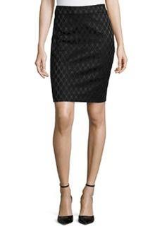 Diane von Furstenberg Emma Diamond Pencil Skirt