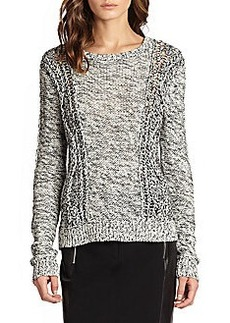 Diane von Furstenberg Ettie Cable-Knit Sweater