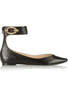 Diane von Furstenberg Evie leather flats