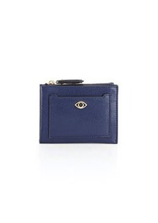 Diane von Furstenberg Evil Eye Coin Case, Dark Night Blue