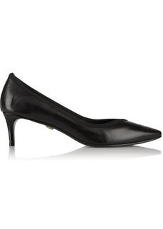 Diane von Furstenberg Faline leather pumps