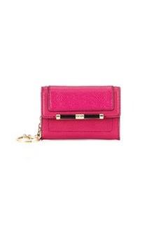 Diane von Furstenberg Flap-Top Card Case, Pink