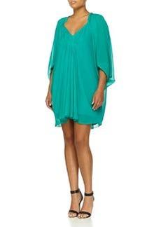 Diane von Furstenberg Fleurette Shift Dress, Parakeet