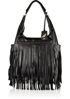 Diane von Furstenberg Franco fringed leather tote