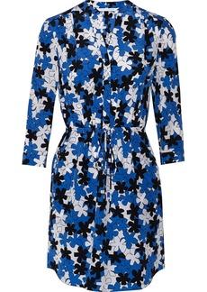 Diane von Furstenberg Freya floral-print silk mini dress
