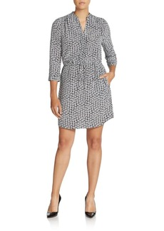Diane von Furstenberg Freya Printed Silk Dress