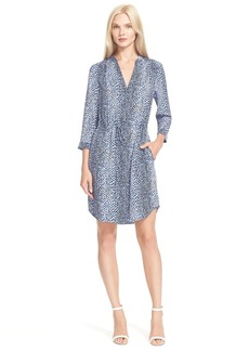 Diane von Furstenberg 'Freya' Silk Shirtdress