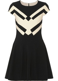 Diane von Furstenberg Gail stretch-crepe mini dress