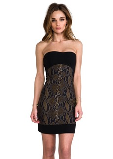 Diane von Furstenberg Garland Two Dress in Black
