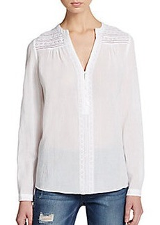 Diane von Furstenberg Gaylen Cotton Top