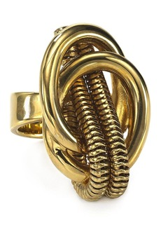 DIANE von FURSTENBERG Gemma Knotted Cocktail Ring