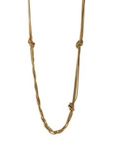 Diane von Furstenberg Gemma Knotted Long Necklace