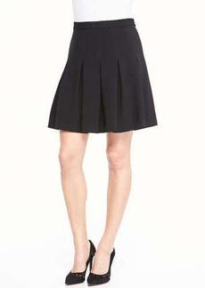 Diane von Furstenberg Gemma Mini Skirt W/ Godets