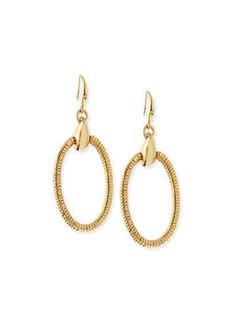 Diane von Furstenberg Gemma Oval Drop Earrings
