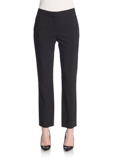 Diane von Furstenberg Genesis Stretch-Wool Pants