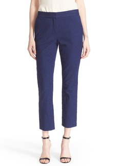Diane von Furstenberg 'Gennifer Two' Crop Stretch Cotton Pants