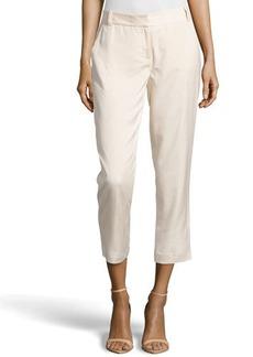 Diane von Furstenberg Georginne Woven Crop Pants