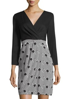 Diane von Furstenberg Gianna Geometric-Print Dress