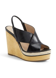 Diane von Furstenberg 'Gladys' Wedge Sandal (Women)